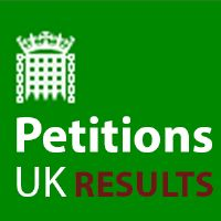 Parliamentary Petitions Results